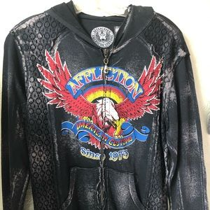 Affliction American Customs Ladies Jacket Small